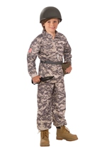 Desert Soldier Boys Army Costume