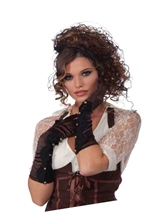 Steampunk Long Brown Gloves
