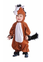 Plush Horse Kids Costume