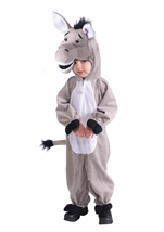 Plush Donkey Kids Costume