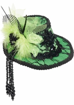 All ages Mini Lace Fedora Hair Clip Hat
