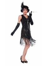 20s Flapper Swinging Sequins Woman Costume