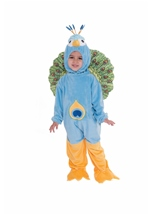 Peacock Toddler Kids Costume