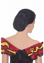 Adult Spanish Dancer Black Wig