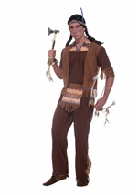 Men Native American Brave Costume