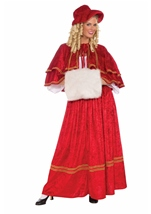 Christmas Caroler Woman Costume
