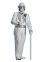 Victorian Ghost Groom Men Costume