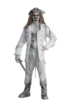 Ghost Captain Men Ghostly Spirit Deluxe Costume