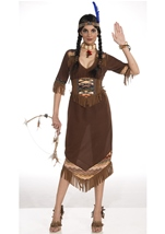 Princess Little Deer Women Native American Costume
