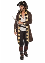Buccaneer Captain Men  Pirate Costume