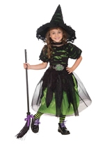 Mysteria Witch Designer Girls Witch Costume