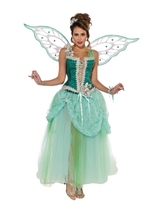 Emerald Fairy Deluxe Designer Collection Women Costume