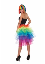 Rainbow Bustle Tutu Woman