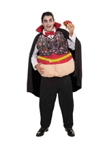 Count The Calories Men Funny  Costume