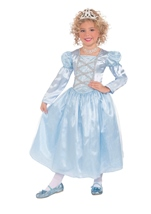 Blue Princess Girls Fairy Tale Costume