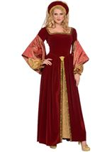 Designer Anne Boleyn Woman Costume