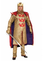 King Arthur Men Designer Deluxe Costume