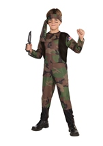 Boys Classic Army Costume