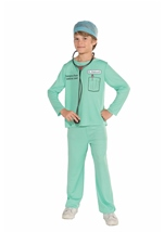 Doctor Kids Unisex Costume