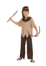 Native American Brave Boys Costume