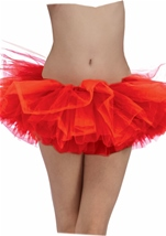 Tutu Adult Woman Red