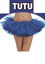 Tutu Adult Woman Blue