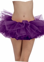 Tutu Adult Woman Purple