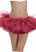Tutu Adult Woman Burgundy