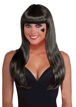 Black Long Women Wig