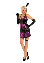 Sassy in Sequin Flapper Costume