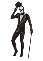 Disappearing Man Sull Tuxedo Men Halloween Costume