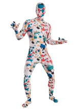 Art Splatter Disappearing Men Costume