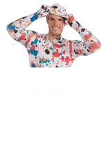 Art Splatter Disappearing Men Halloween Costume