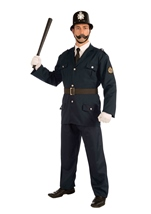 British Bobbie Men Deluxe Costume