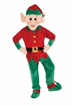 Mascot Elf Deluxe Christmas Costume