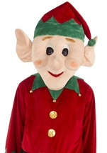 Adult Mascot Elf Deluxe Christmas Costume