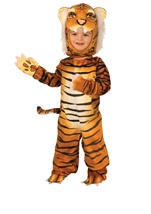 Tiger Kids Deluxe Plush Orange Costume