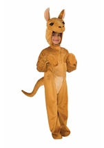 Kangaroo Boys Plush Deluxe Costume