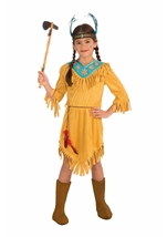 Little Flower Girls Native American Costume