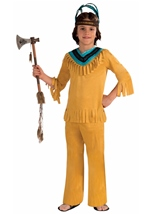 Native American Brave Warrior Boy Costume