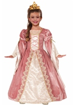 Designer Collection Deluxe Victorian Rose Girls Princess Costume