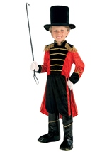 Boys Ring Master Circus Costume