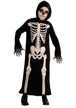 Skeleton Reaper Boys Costume