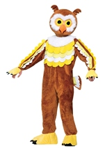 Adult Give a Hoot Owl Unisex Mascot Costume