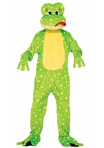 Adult Freddy The Frog Mascot Costume