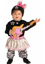 80s Baby Girl Punk Style Toddler Costume