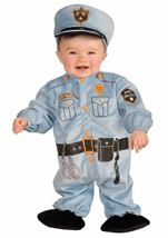 Kids Police Man Toddler Costume