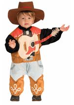 Western Rock Star Toddler Cowboy Costume