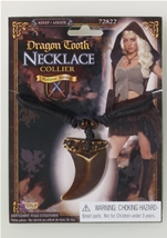 Medieval Fantasy Dragon Tooth Necklace