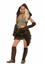 Medieval Rogue Warrior Women Costume